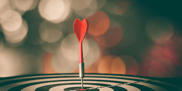 Dart in the bulls eye of a target - how eDiscovery