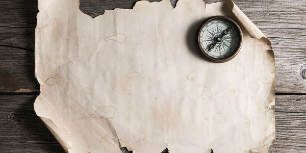Compass and map for ediscovery project scope and planning.